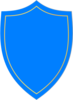 Shield Blue-gold Clip Art