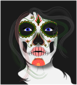 Female Skull Clip Art