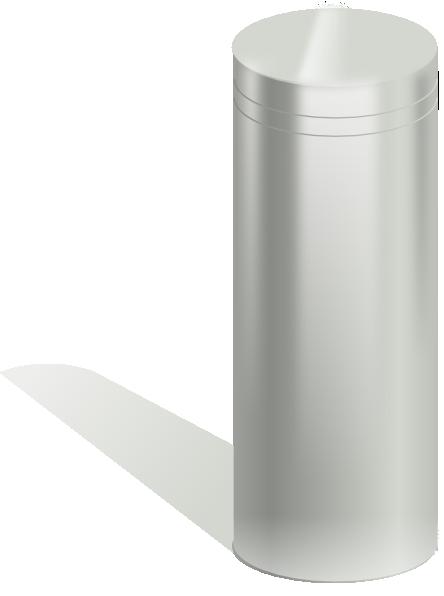 Metallic Tube Clip Art At Clker Com Vector Clip Art