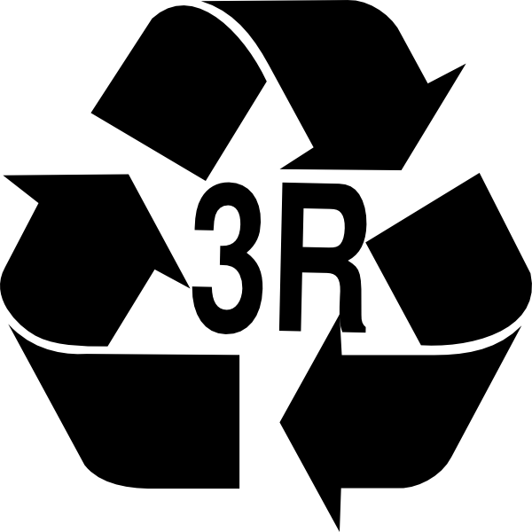 3r: Reduce, Reuse, Recycle Clip Art at Clker.com - vector clip art ...