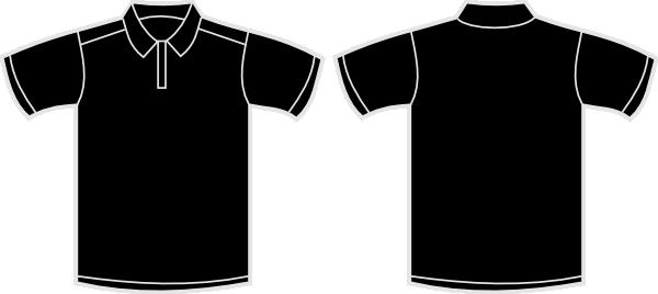 polo black clip art