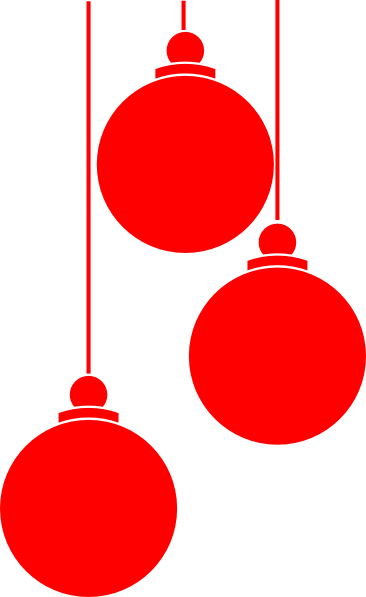 Christmas Ornaments Clip Art at Clker.com - vector clip art online ...