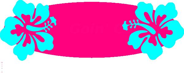 pink hibiscus flower clip art at clkercom vector clip