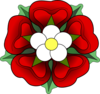 Official Tudor Rose Clip Art