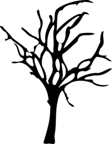 dead tree clip art at clker com vector clip art online royalty rh clker com dead tree silhouette clip art