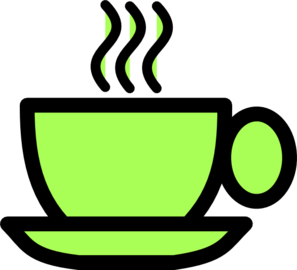 Green Tea Cup Clip Art
