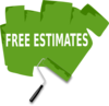 Paint Free Estimate Clip Art