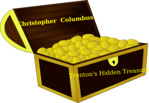 Columbus Treasure Box Clip Art