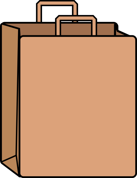 Paper Bag Clip Art at Clker.com - vector clip art online, royalty free ...