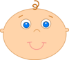 Happy Baby 2 Clip Art