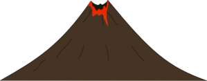 Volcano Clip Art at Clker.com - vector clip art online ...
