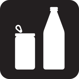 Bottle And Can Clip Art at Clker.com - vector clip art online, royalty ...