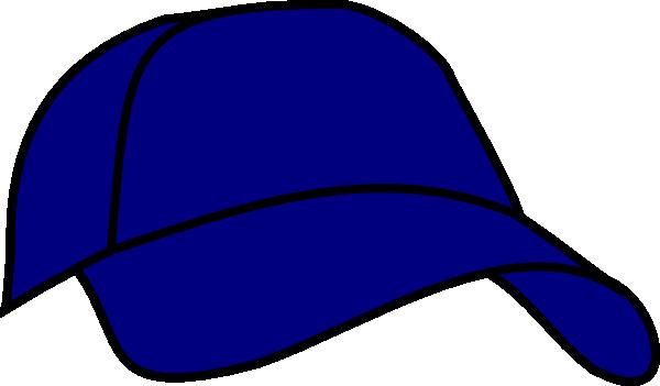 2a360989102 Blue Baseball Cap Clip Art at Clker.com - vector clip art online ...