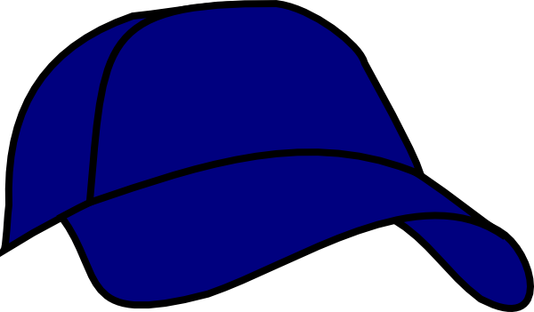 blue baseball cap clip art at clker com vector clip art baseball caps clipart baseball hat clipart silhouette
