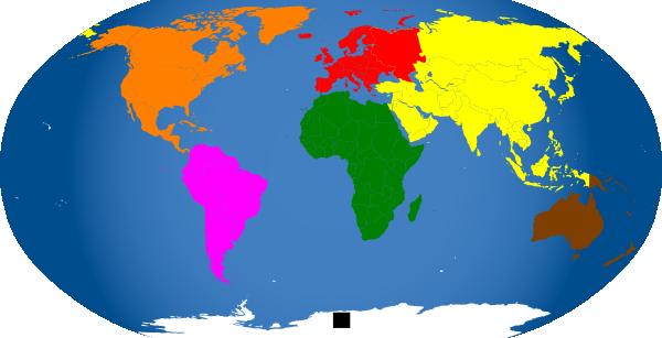 Montessori World Map Clip Art at vector clip art online royalty