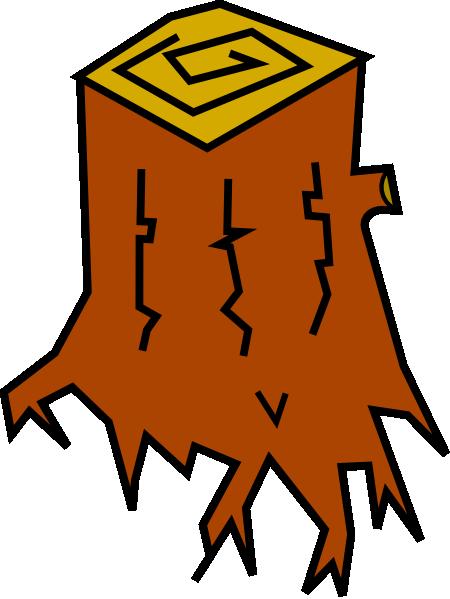 tree stump clip art at clker com vector clip art online royalty rh clker com old tree stump clipart free tree stump clipart
