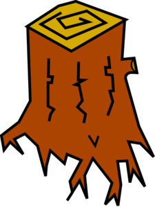 Tree Stump Clip Art