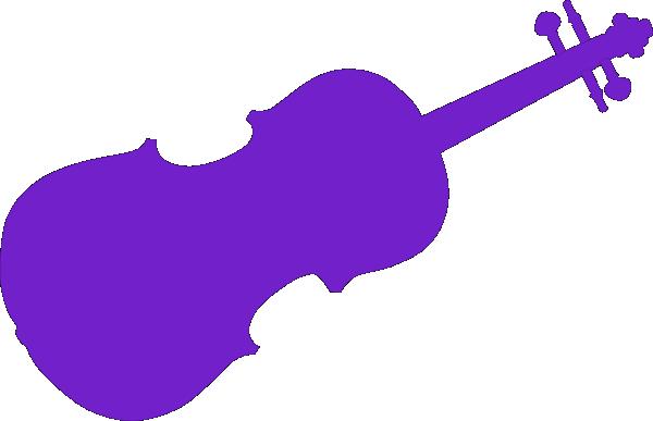 purple violin clip art at clker com vector clip art online rh clker com violin clipart black and white violin clipart images