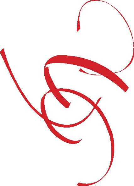 red swirl lg clip art at clkercom vector clip art
