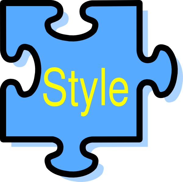 Style clip art at clker vector online