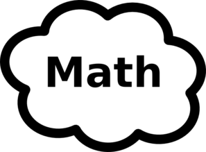 Math Label Sign Clip Art