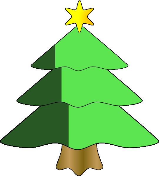 large christmas tree clip art free - photo #13