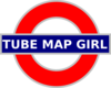 Tube Map Girl Clip Art
