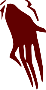 Ghost Scary Hand Clip Art
