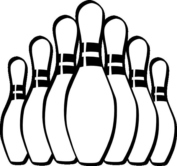 Bowling Pins Clip Art At Clker Com Vector Clip Art