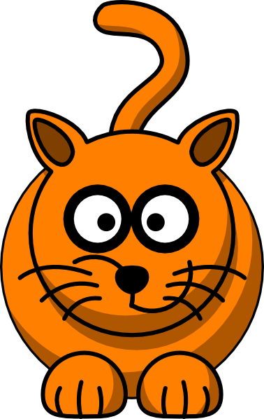 Free Clip Art Fat Cat