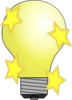 Magic Lightbulb Clip Art