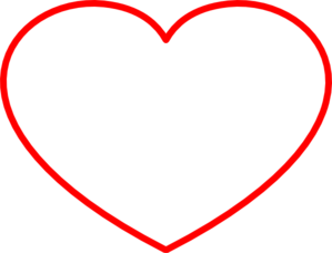 Heart Frame New Red Clip Art