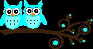 Purple Owl On Branch Clip Art at Clker.com - vector clip ...
