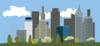 City-skyline clip art