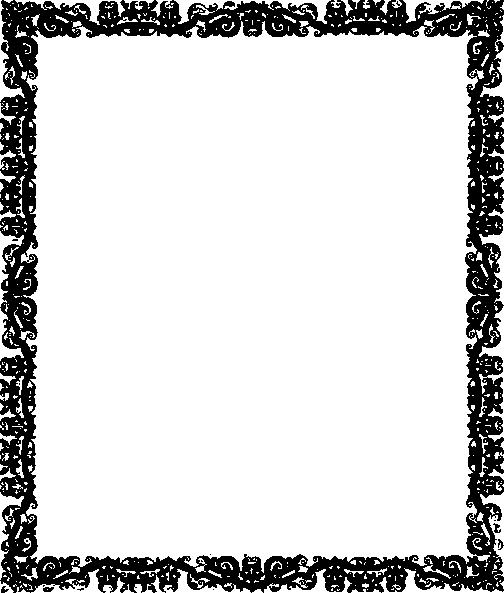 Black Frame Border Clip Art