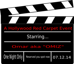 Omar Hollywood Clip Art