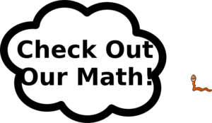 Check Out Math Clip Art