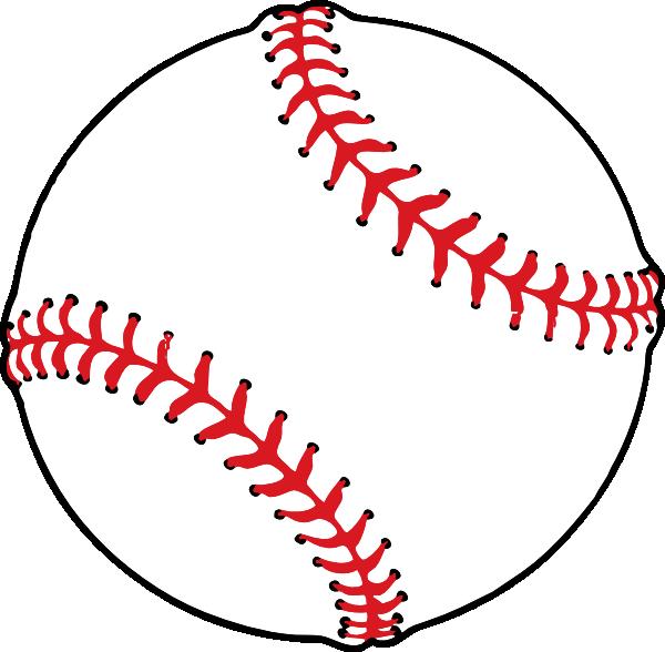 Baseball Clip Art at Clker.com - vector clip art online, royalty free ...