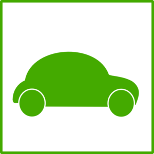 Green Car Icon Clip Art
