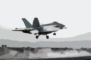An F/a-18e Super Hornet Launches From One Of Four Steam Powered Catapults On The Flight Deck Of Uss Abraham Lincoln (cvn 72). Clip Art