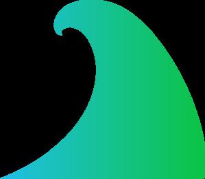 Ocean Wave Clip Art at Clker.com - vector clip art online ...