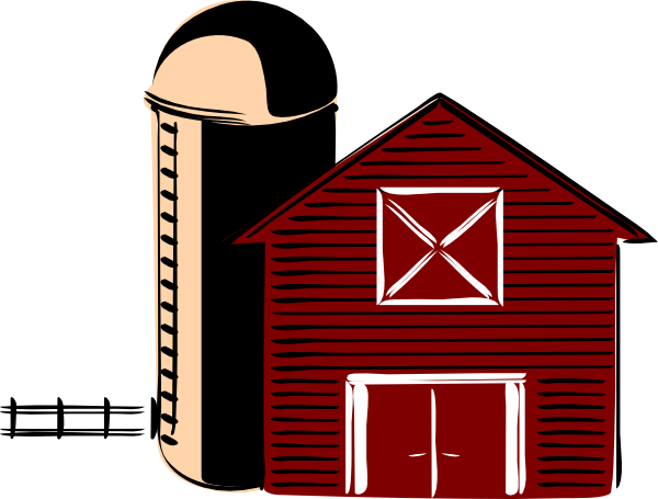 traditional barn clip art at clker com vector clip art online rh clker com clip art barn door clip art barn animals
