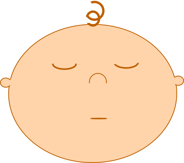 free clip art baby sleeping - photo #16