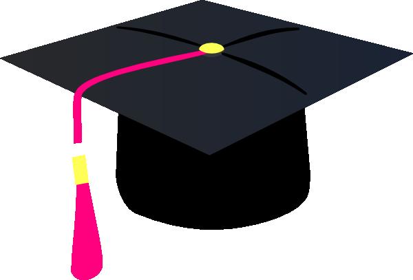 mortarboard pink tassel clip art at clker com vector clip art rh clker com  graduation mortar board clipart