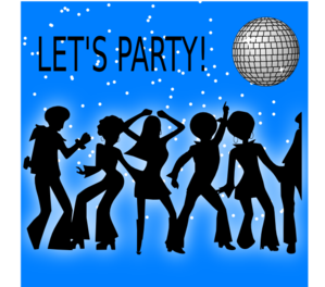 Disco Nights 3 Clip Art