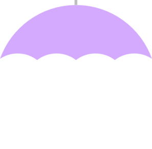 Umbrella Purple Clip Art