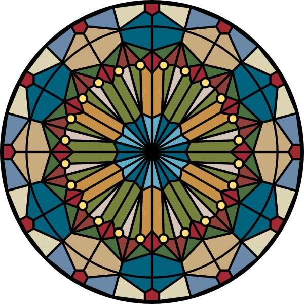 Stained Glass Clip Art : Glass stained clip art at clker vector