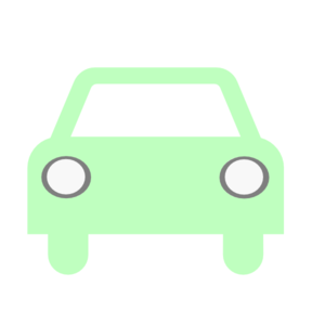Car Green Silhouette Clip Art