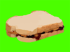Peanut Butter And Jelly Sandwhich Clip Art