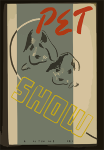 Pet Show - Wpa Recreation Project, Dist. No. 2 Clip Art